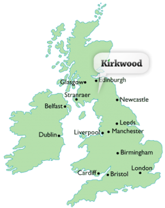 Kirkwood-UK-map