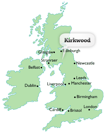 Location and Contacts Kirkwood Real Farm Holidays