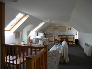 Upstairs in Otter Cottage