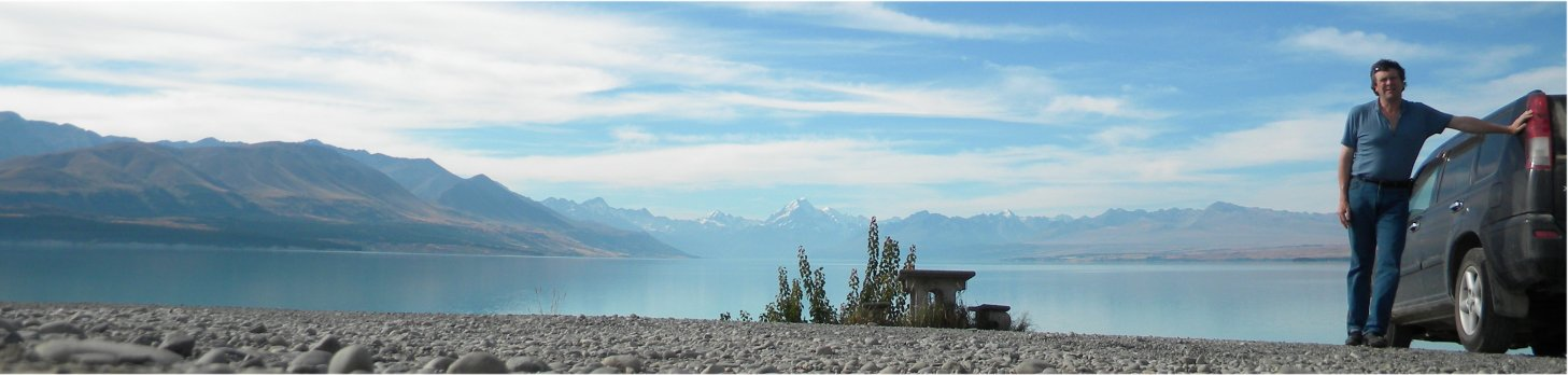 Lake Pukaki, South Island, NZ